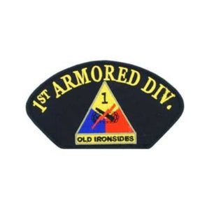 Hat Patch 1st Armored Division
