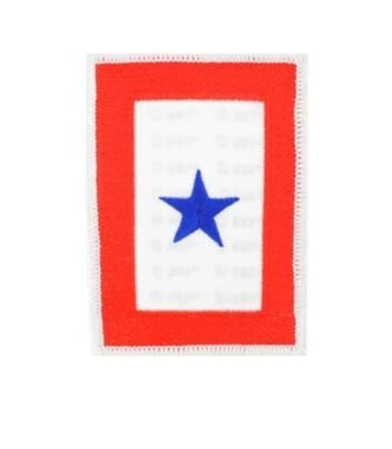Blue Star Family member Patch
