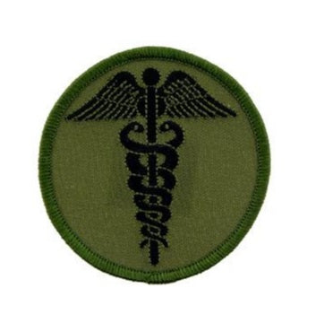 OD Medic Caduceus Patch