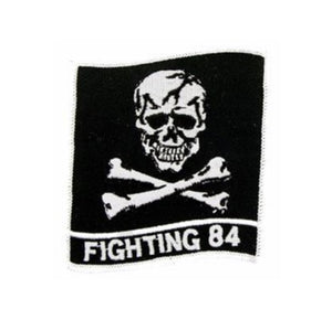 U.S. Navy Fighting 84 Skull Patch