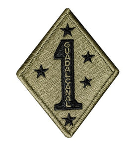 1st Marine Div Scorpion Patch