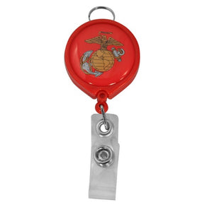 Marine Retractable Badge Holder