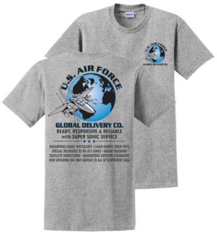 Global Delivery USAF T-Shirt