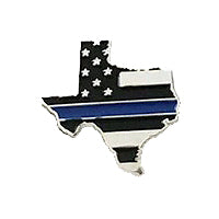 Texas State Blue Line Pin