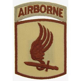 173rd Airborne w Tab Patch