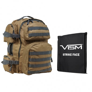 Vism Tactical Backpack w Level 3A Plate