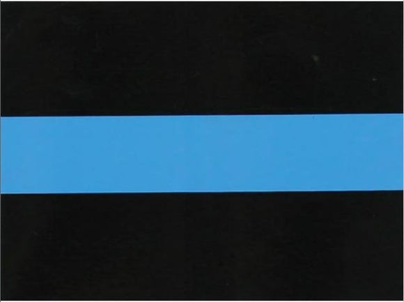 Thin Blue Line Square Decal