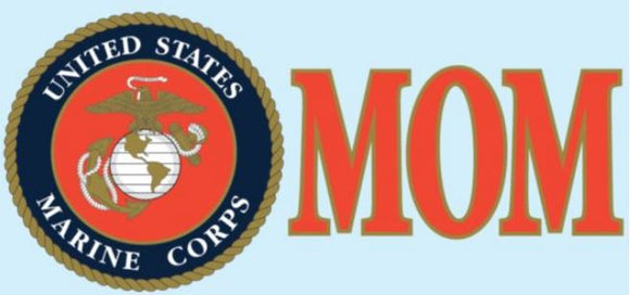 U.S. Marine Corps MOM EGA Decal