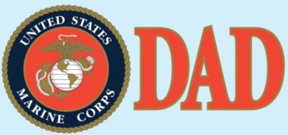 US Marine Corp DAD EGA Decal
