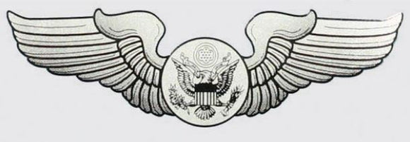 Air Force Aircrew Wings Decal