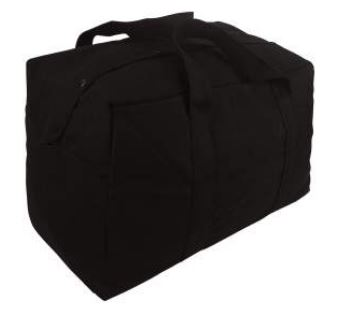 Canvas Parachute Cargo Bag 24 x 15 x 13
