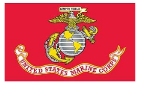 Marine Flag - Made In USA