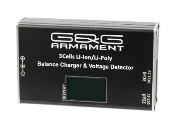 Li-Po Balance Charger/Voltage Detector (with display screen)