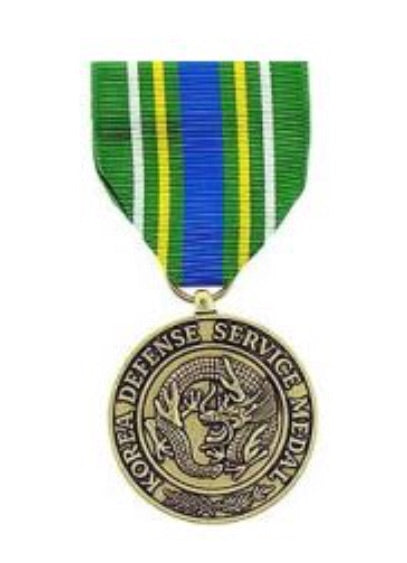 Korean Defense Medals