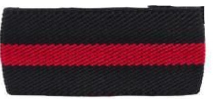 Mourning Band w/ Thin Red Line