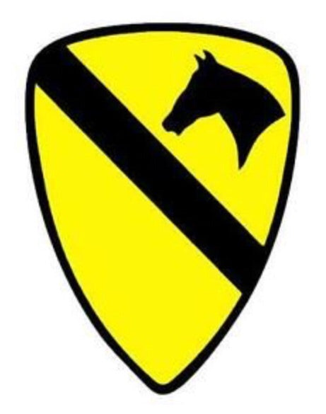 Decal 1st CAVALRY