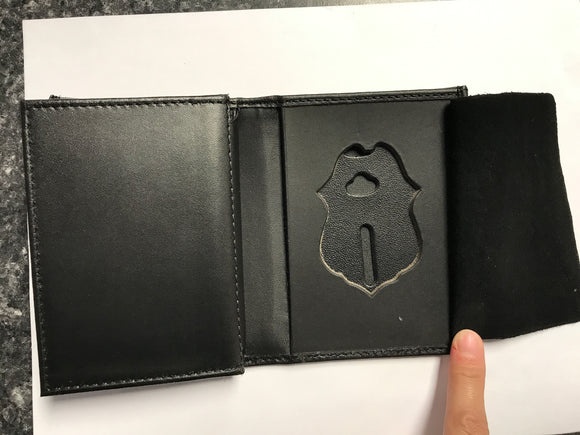 Border Patrol Double ID Badge Wallet