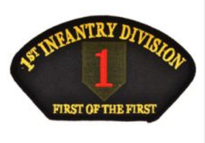 1st Infantry Div Hat Patch