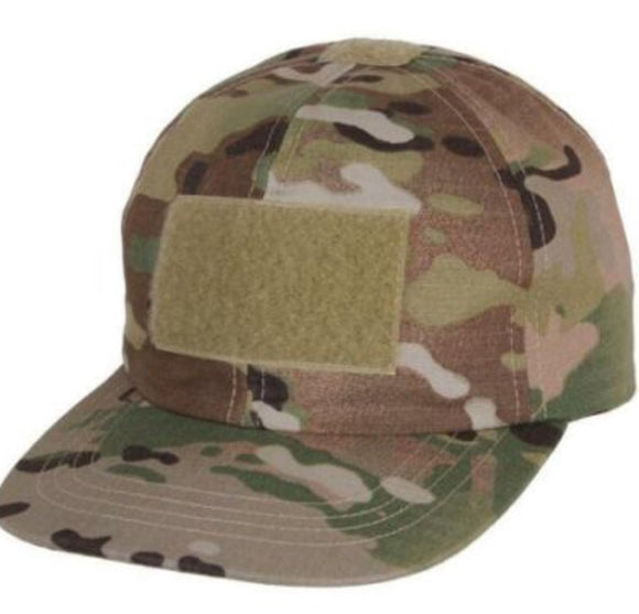Kids Tactical Cap w Velcro