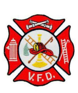 Volunteer fire Dept Patch