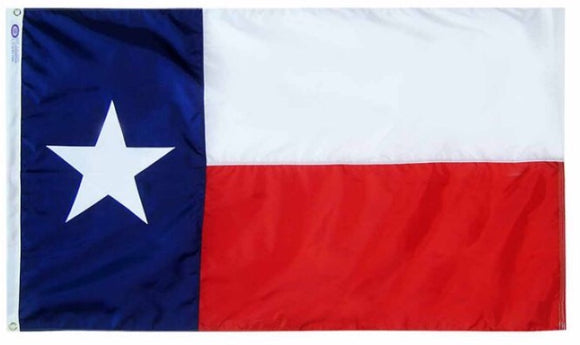 TEXAS 3 x 5 Embroidered Flag