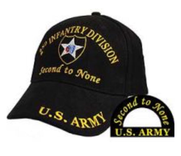 2nd Infantry Cap - Second To None