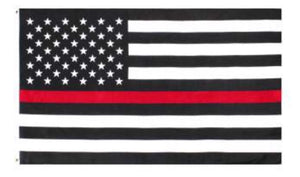 Thin Red Line US Flag