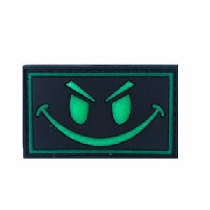 Rubber Morale Patch Glow Smile