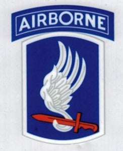 173rd Decal Sky Soldiers