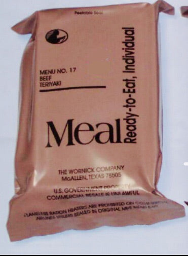 MRE - Meals-Ready-To-Eat (Individual)