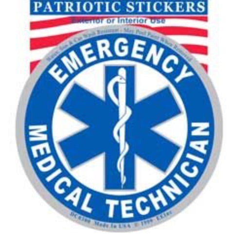 EMT Logo Round decal