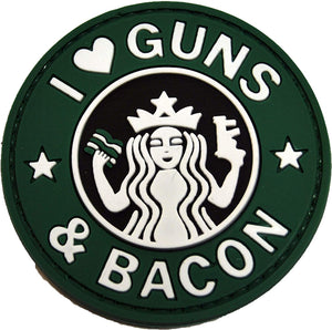 Guns and Bacon PVC Patch