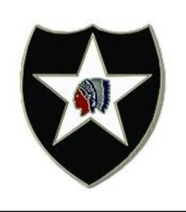 2nd Infantry Pin