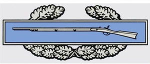 Combat Infantry Badge Decal