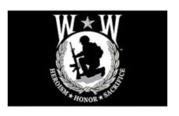 Wounded Warrior Flag