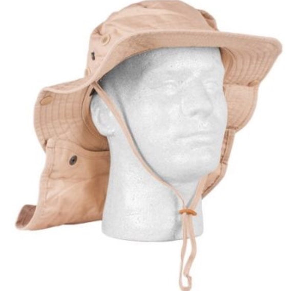 Jungle Hat w Neck Protector