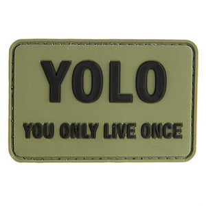 YOLO Velcro Patch