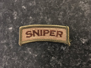 Sniper Tab Velcro Patch