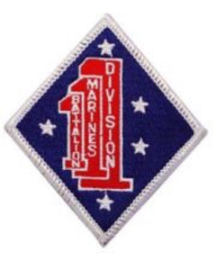 Patch  USMC 1st Battilion