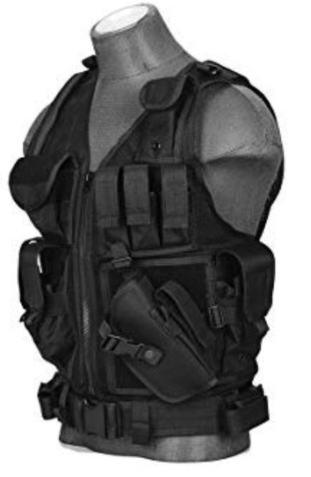 Lancer Tactical Cross Draw Vest