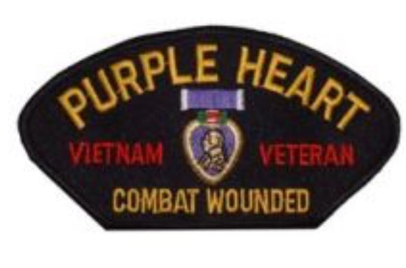 Cap Patch Purple Heart Vietnam