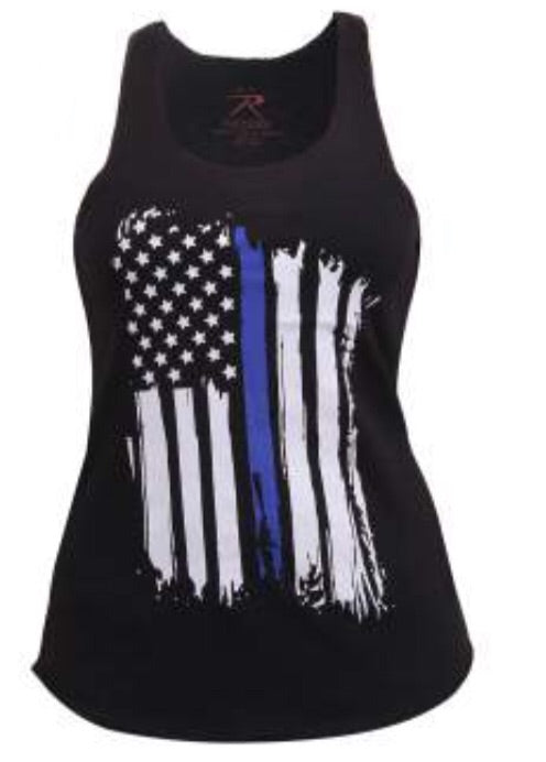 Ladies Blue Line Tank Top