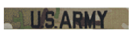 U.S. ARMY Scorpion Name Tape Sew On