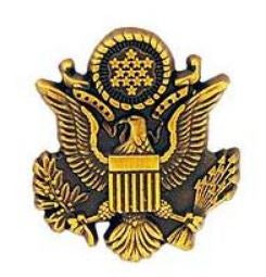 U.S. Army Seal Eagle Emblem Pin