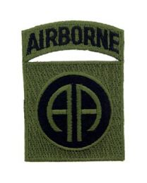 82nd Airborne w/Tab Patch