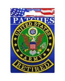 US Army Retired Patch