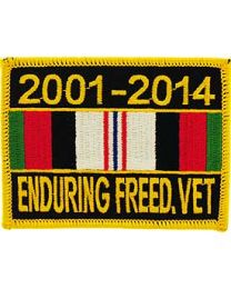 2001-2014 Enduring Freedom Vet Patch