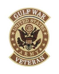 Gulf War Army Veteran Patch