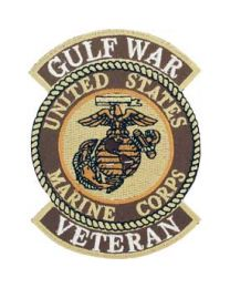 Gulf War Marine Veteran Patch
