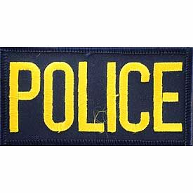 Police Tab Patch